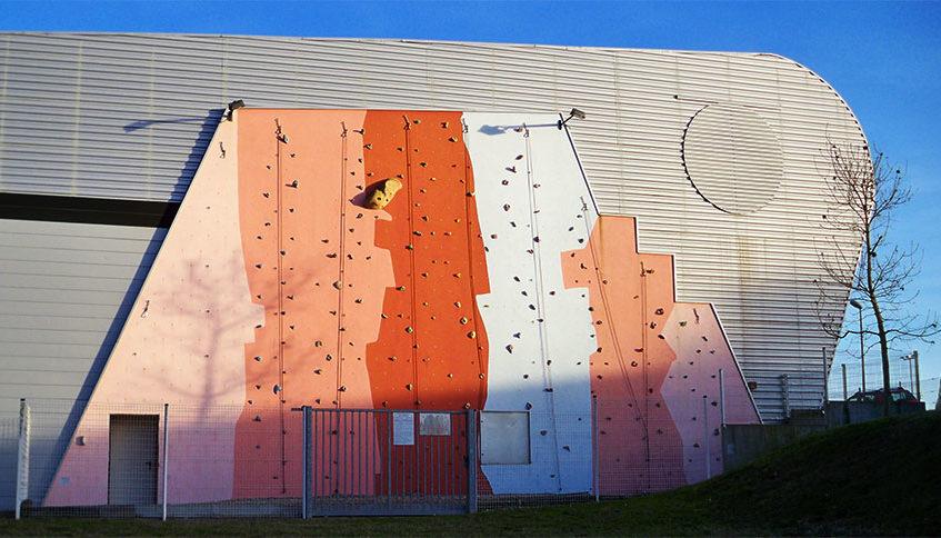 mur extérieur SAE duros escalade